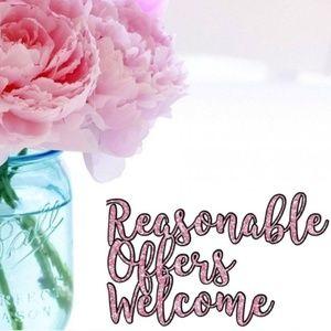 Reasonable offers welcome 🌸